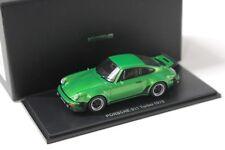 1:43 Kyosho Porsche 911 930 Turbo 1975 green NEW bei PREMIUM-MODELCARS