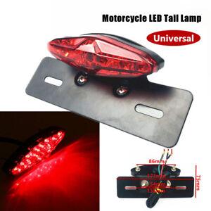 12V LED Motorcycle Turn Signal Tail Driving Fender Brake License Plate Light Kit