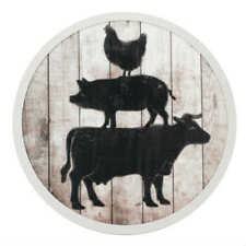 Boston Warehouse Lazy Susan, Animal Stack, 12 Inches