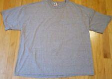 Vintage 90s RUSSELL ATHLETIC shirt XXL heather gray plain blank blend 2XL
