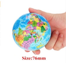 World Map Foam Earth Globe Style Stress Relief Ball