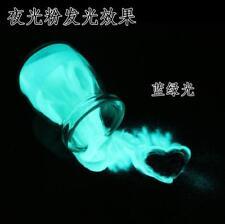 25KG bluereen glow in the dark photoluminescent luminous pigment powder sand