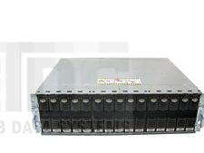 "EMC CX-4PDAE CX DAE w/ 15x CX-4G15-146 146GB 15K 4Gbps 3.5"" FC HDD + Accessories"