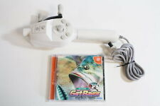 Dreamcast Official Fishing Controller W/ Get Bass HKT-8700 OEM DC Japan Import