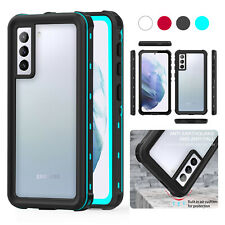 For Samsung S21 + Note 20 A12 A32 A52 A02S A11 Waterproof Hybrid Slim Case Cover