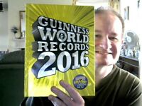 GUINNESS WORLD RECORDS 2016 HARDBACK REFERENCE HOME SCHOOLING FREE UK POST