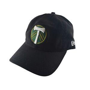 Portland Timbers New Era 9FIFTY Adjustable Black Hat soccer cap