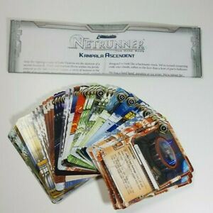 Android Netrunner Kampala Ascendant Data Pack Unboxed with Insert