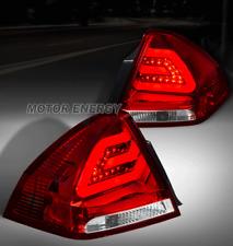 06-13 CHEVY IMPALA SEDAN LED TAIL BRAKE LIGHT REAR LAMP RED/CLEAR LEFT+RIGHT SET