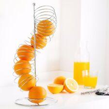Obstspirale Obstkorb Obstschale Spiralständer für Orangen Äpfel Mandarinen Obst