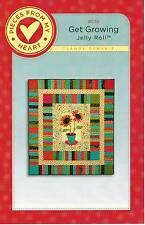 GET GROWING Jelly Roll Quilt Pattern By Sandy Gervais