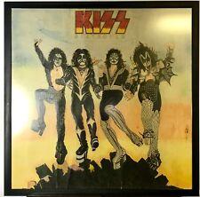 Vintage 70s Original KISS ALBUM COVER DESTROYER~COLOR~Drawing~OBSOLETE~KEN KELLY