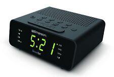 Emerson CKS1800 SmartSet Alarm Clock Radio with AM/FM Radio, Dimmer, Sleep Timer