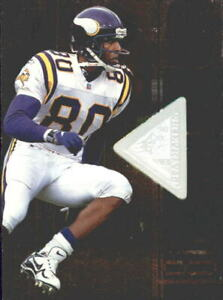 1998 SPx Finite Football Card #120 Cris Carter PM/5500