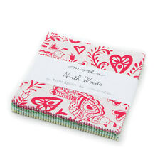 "Moda Charm Pack - North Woods - 42 x 5"" squares"