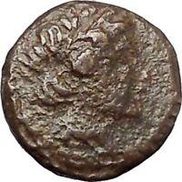 Antiochos III  the Great  223BC RARE Ancient Greek Coin Elephant  i47481