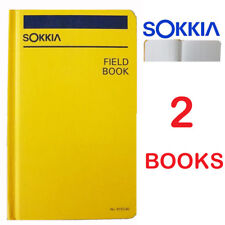Sokkia  815260 Field Book - Set of 2 (Two) Books