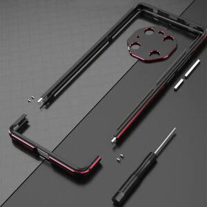 For Huawei Mate 40 Pro Aluminum Metal Bumper Frame Cover Case+ Carmera Protector