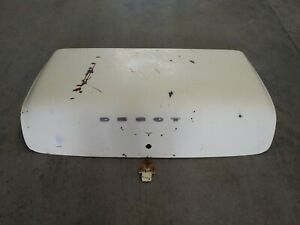 Desoto Firedome Fireflite Chrysler Windsor Trunk Lid 55 56