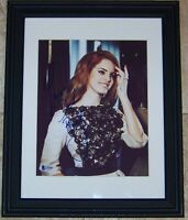 ONE TIME SUPER SALE! Lana Del Rey Signed Autographed 8x10 Photo Beckett BAS COA