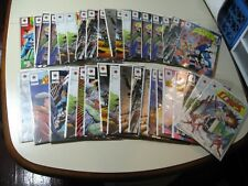 36 LOT of Comic Books by Valiant (all in good condition with bags and backs)