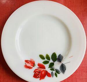 "Pyrex June  Rose Dinner Plate 25cm / 10"" - Vintage 60's - VG"