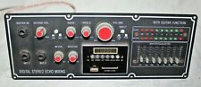 QFX, PBX-410208BT Front Panel Board Portable Bluetooth Karaoke PA