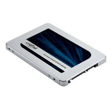 """Crucial MX500 500GB SATA 2.5-inch 7mm (with 9.5mm adapter) 2.5"""" Internal SSD"""