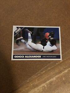 Odicci Alexander James Madison Dukes Pitcher Softball NCAA WCWS Custom Card