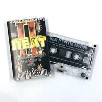 HEAT II Ghetto Session Cassette Tape E-40 Messy Marv Rap Hip-Hop Rare