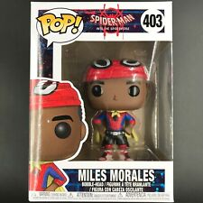 Funko Pop! Spiderman Into the Spiderverse - Miles Morales w/ Cape #403 Figure