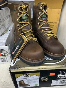 Georgia Boots 6 Inch Insulated Waterproof Leather    Kids - Size 13.5 G2048