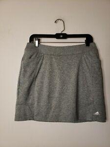 Adidas Women's Skort Skirt Size Small Size Gray Activewear Pockets Workout