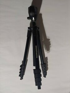 "Manfrotto MKCOMPACTACN-BK 61"" Compact Action Tripod Black NO QUICK RELEASE PLATE"
