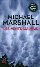 Livre de poche policier les vents mauvais Michael Marshall book