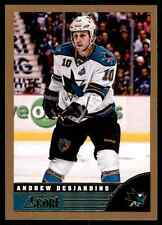 2013-14 Score Gold Andrew Desjardins #435