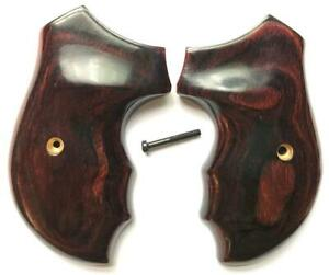 Charter Arms Grips New Undercover Rosewood, Bulldog, Pathfinder etc Rosewood