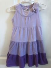Girl's Preowned 3 Layered Purple Dress Size 4