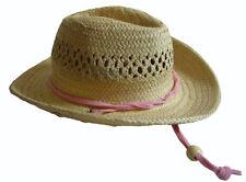 "Straw Cowboy Western Hat for 18"" American Girl Nicki Doll Clothes"