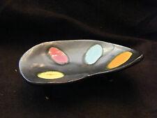Vide poche Palette à Peinture en Céramique Vallauris Années 50