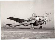Foto Luftwaffe Flugzeug Me 110 G-4 3./NJG 6 Großsachsenheim September 1944 #