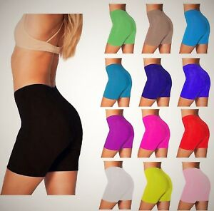 LADIES WOMEN CYCLING GYM/DANCING SHORTS  Plus Size 8-22 HUGE SALE!!!