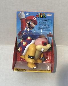 "World Of Nintendo Super Mario Roy Koopa 2.5"" Figure Jakks Pacific New"