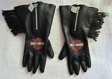 Vintage 1994 Harley Davidson Women's Leather (Maybe) Gloves Small