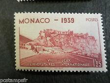 MONACO 1939, timbre 198, SPORT STADE LOUIS II, neuf**, VF MNH STAMP STADIUM