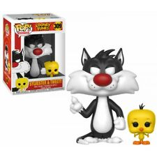 Funko Pop Animation Looney Tunes - Sylvester and Tweety Vinyl Figures 10cm