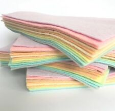 Pastels Collection Wool Blend Felt x 12 Sheets - Soft Craft Felt Bundle
