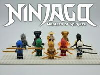NEW Ninjago Season 11 - 10 Minifigures Set Custom Set For Lego - USA SELLER