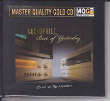 """Audiophile Best Of Yesterday"" Master Quality Gold CD MQGCD MQG CD New Numbered"