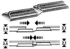 Fleischmann 6437 Übergangs-Schienenverbinder, H0